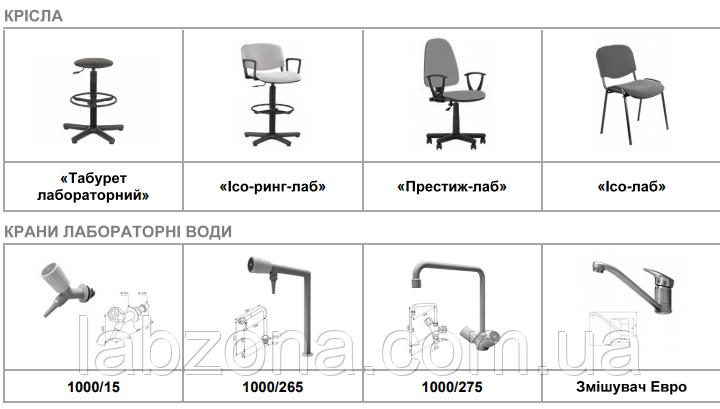Лабораторные стулья. Медицинская мебель