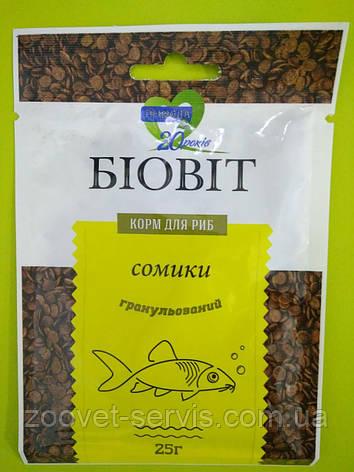 Корм в пластинках для сомиковБиовит Сомики ТМПрирода, 25 гр, фото 2