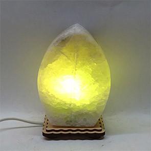 Соляной светильник Листик маленький