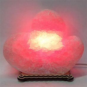Соляной светильник Два сердца