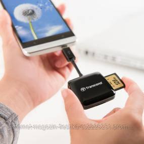 Card reader USB 2.0 OTG Transcend P9K Black