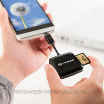 Card reader USB 2.0 OTG Transcend P9K Black