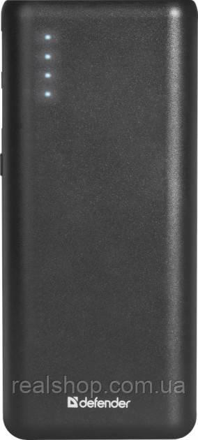 Аккумулятор внешний  Defender Lavita 10000 mAh Black (83617) Power Bank УМБ