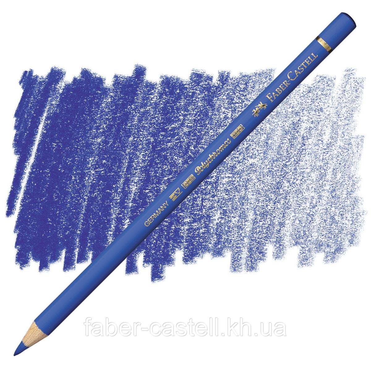 Карандаш цветной Faber-Castell POLYCHROMOS ультрамарин №120 (Ultramarine), 110120