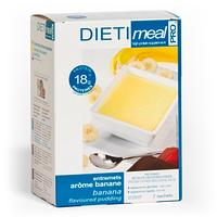 Десерт зі смаком банана протеїновий DIETI Meal Pro, 24 гр