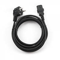Кабель Сетевой Cablexpert PC-186-VDE-10M шнур 10,0м, 3*1 мм кв.