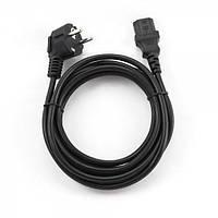 Кабель Сетевой Cablexpert PC-186-VDE-3M / CEE7/17-C13, длина 3 м, VDE, 3*0.1 мм кв.