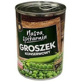 Консервированный горошек Nasza Spizarnia 400 g (Польша)