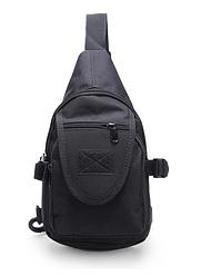 Тактическая сумочка через плечо TacticBag черная