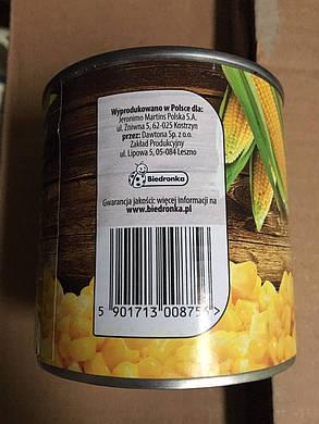 Консервированная кукуруза Nasza Spizarnia 340 g, фото 2