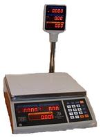 Весы торговые электронные ВТЕ-Центровес-15Т2-ДВ-(СВ)