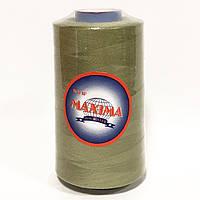 Швейные нитки 40/2 MAXIMA, оливковый (307)