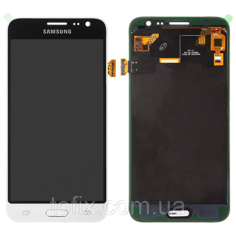 Дисплей для Samsung Galaxy J3 (2016) J320, модуль в сборе (экран и сенсор), белый, TFT++
