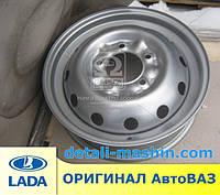 Диск колесный 16х5,0J ВАЗ 2121 НИВА металлик серебр. (пр-во АвтоВАЗ) 21214-310101500