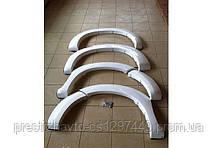 Расширители колесных арок на Toyota Hilux