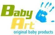 Подарункові набори для створення відбитків ручки або ніжки малюка від Baby Art