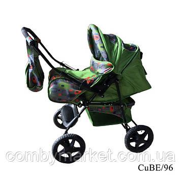 Детская коляска-трансформер Dolphin CuE/96, Trans Baby