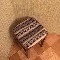Накидка на стулья из овчины, фото 1