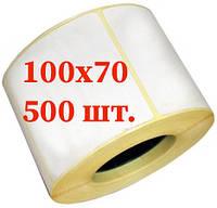 Термоэтикетка Зебра 100х70
