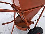 Ручной разбрасыватель соли, песка и минеральных удобрений, фото 2