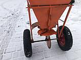 Ручной разбрасыватель соли, песка и минеральных удобрений, фото 5