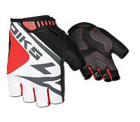 Перчатки без пальцев In Motion NC-2318-2014 черн-белый XL