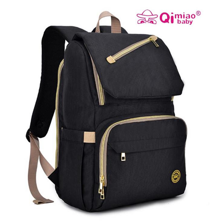 Фирменный черный рюкзак для мамы. Бесплатная доставка по Украине!