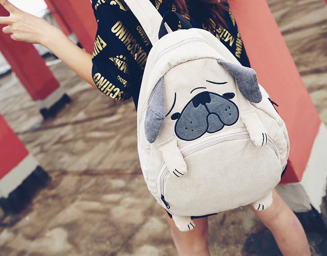 Рюкзак подростковый в виде Собачки