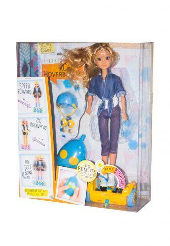 Кукла на гироборде, радиоуправление