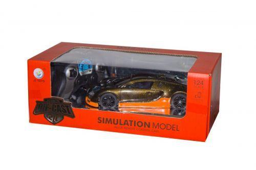 """Машина на радиоуправлении """"Bugatti Veyron"""" (черная) JT040"""