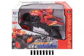 """Квадроцикл на радиоуправлении с водителем """"Ninja Crawler"""" (красный)"""
