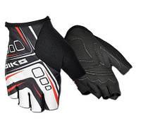 Перчатки без пальцев In Motion NC-2320-2014 черн-серый L