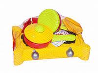 Детская кухня Ева желтая KW-04-413