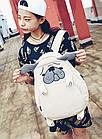 Рюкзак детский Собака с ушами и лапами, фото 8