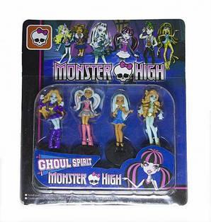 """Фигурка """"Monster high"""" (4 фигурки в наборе)"""