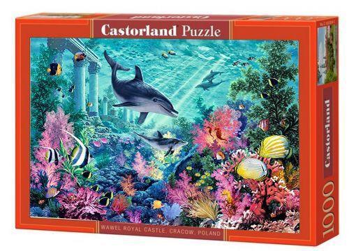 """Пазлы Castorland """"Дельфины. Подводный мир"""" 1000 элементов"""