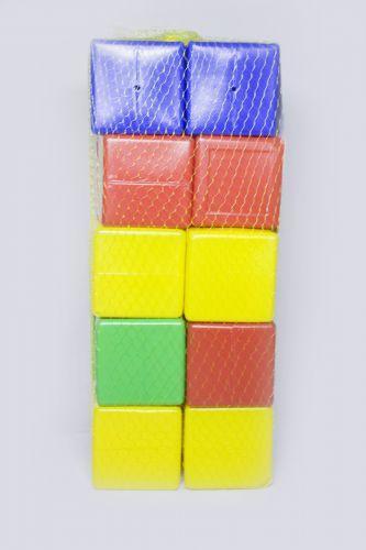 """Развивающие кубики пластмассовые """"Строитель №3"""" 20 штук Л-002-7"""