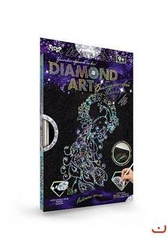 """Алмазная мозаика """"DIAMOND ART"""", """"Павлин"""""""