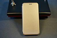Чехол книжка для Samsung Galaxy J7 Neo J701 Самсунг цвет золотистый