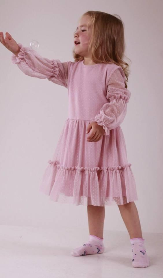 Нарядное платье Робинзон Конфетти (р.104)