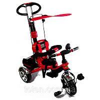 Детский трехколесный велосипед combi trike BT-CT-0014. Красный, фото 1