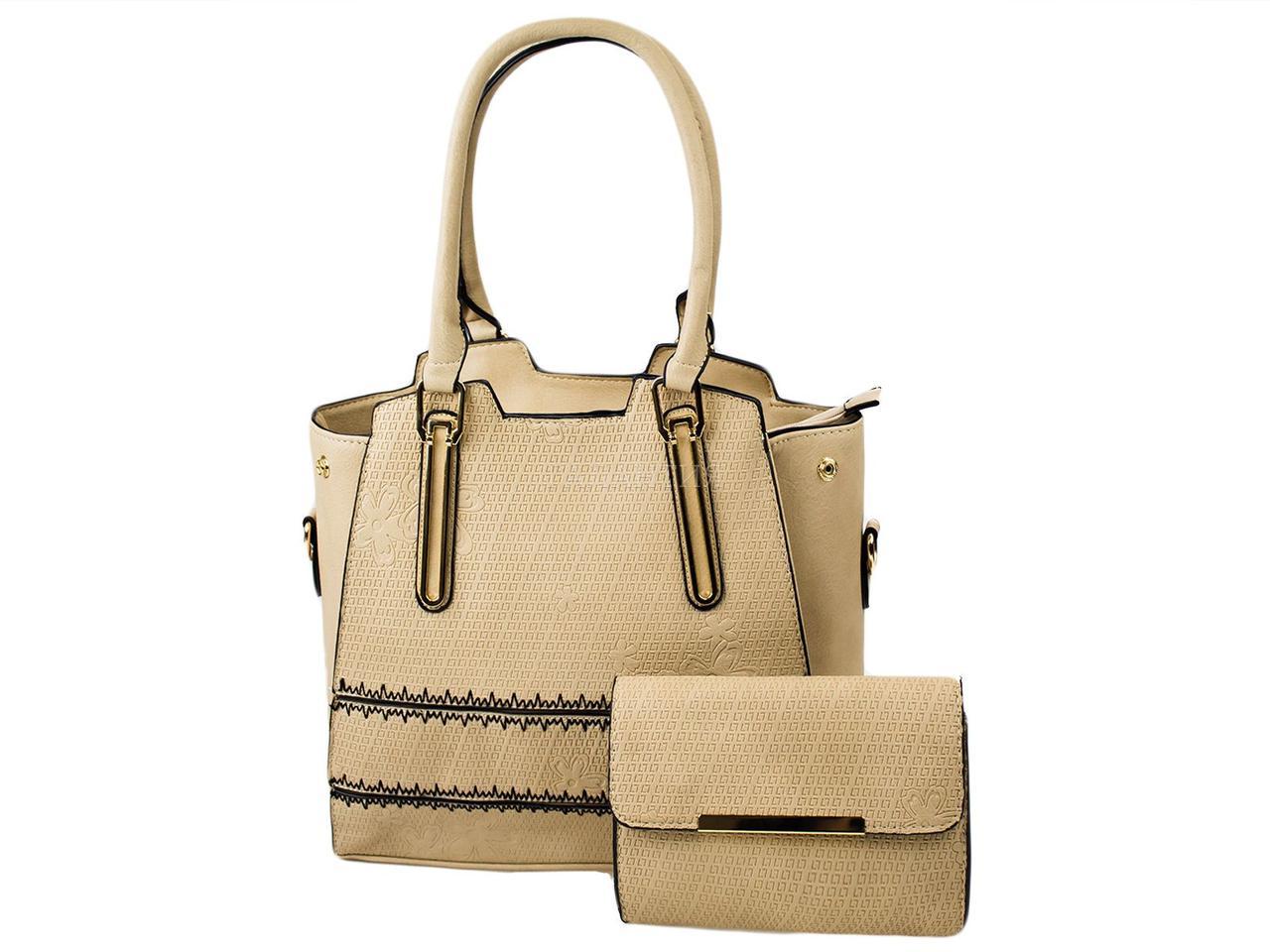 22885b5eddfb Набор сумок 3528-14 бежевый (сумка+клатч): продажа, цена в Херсоне ...