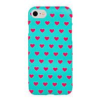 Чехол Arucase для iPhone 6 6s Plus Mint Hearts IGACMH6P1, КОД: 289687