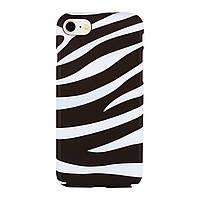 Чехол Arucase для iPhone 5 5s SE Zebra IGACZ5S1, КОД: 289683