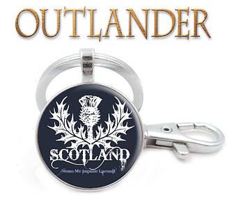"""Брелок """"Шотландия""""  с чертополохом Чужестранка / Outlander"""