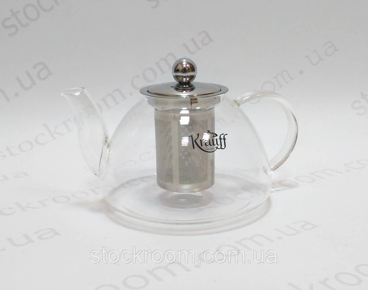 Заварник Krauff 26-177-031 стеклянный ~ 1200 мл