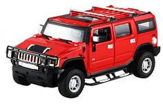 Машинка радиоуправляемая 1:24 Meizhi Hummer H2 металлическая (красный)