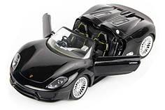 Машинка радиоуправляемая 1:24 Meizhi Porsche 918 металлическая (черный)