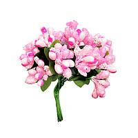 Тычинки на проволоке 7011-004 светло-розовые (12 шт)