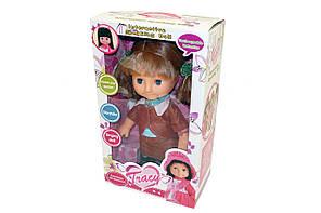 Кукла интерактивная TRACY Оля говорящая с мимикой 40 см (шатенка), фото 3
